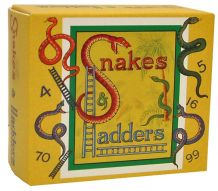 Snakes and Ladders - Retro Family Travel Game